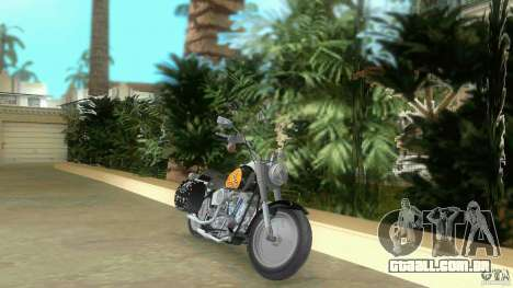 Harley Davidson FLSTF (Fat Boy) para GTA Vice City