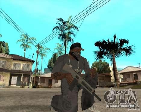 Atchisson assault shotgun (AA-12) para GTA San Andreas terceira tela