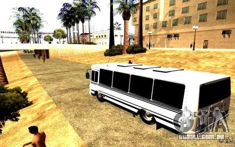 PAZ 3205 Dag para GTA San Andreas esquerda vista