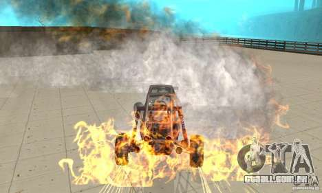 GTA FEATURE BURNOUT FIX 1.2 para GTA San Andreas terceira tela