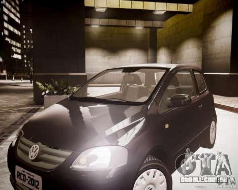 Volkswagen Fox 2011 para GTA 4 vista direita