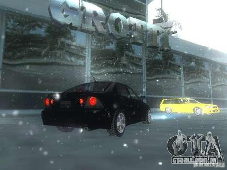 Lexus IS300 para o motor de GTA San Andreas
