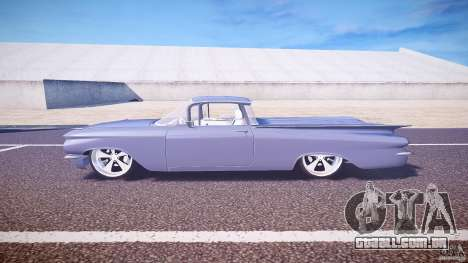 Chevrolet El Camino Custom 1959 para GTA 4 esquerda vista