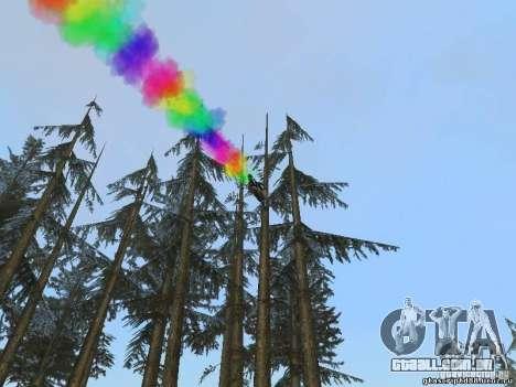 Bike Smoke para GTA San Andreas terceira tela
