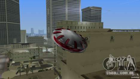 Ultimate Flying Object para GTA Vice City deixou vista