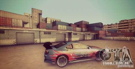 Tokyo Drift map para GTA San Andreas segunda tela