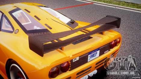 Mc Laren F1 LM v1.0 para GTA 4 vista superior