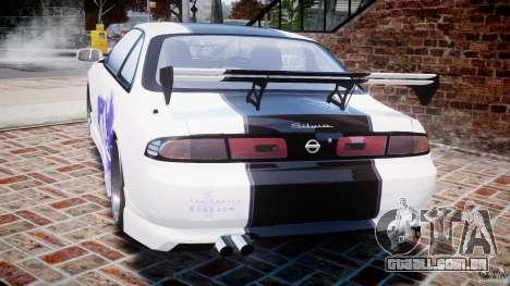 Nissan Silvia S14 [EPM] para GTA 4 traseira esquerda vista