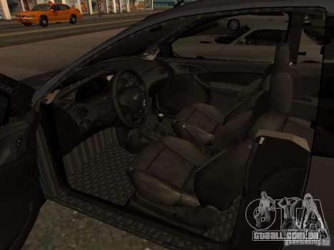 Ford Ka 1998 para GTA San Andreas traseira esquerda vista