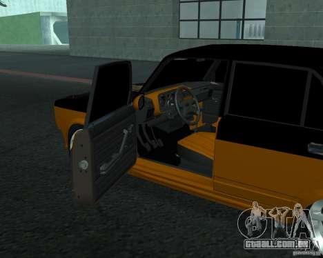 VAZ 21053 tuning para GTA San Andreas traseira esquerda vista