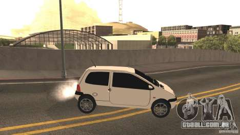 Renault Twingo para GTA San Andreas vista direita