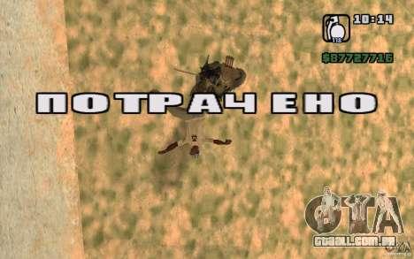 CJ caça V 2.0 para GTA San Andreas terceira tela
