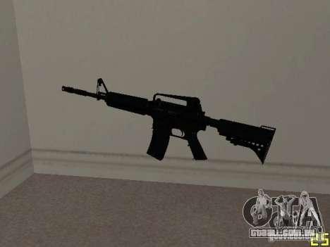 M4 MOD v1 para GTA San Andreas