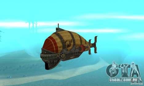 Dirigível do TimeShift para GTA San Andreas