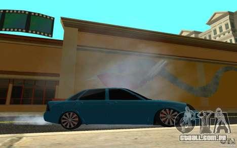 LADA 2170 Penza tuning para GTA San Andreas vista traseira