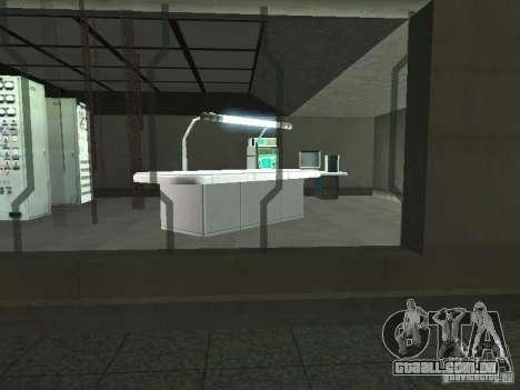 Área aberta 69 para GTA San Andreas por diante tela