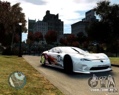 Lexus LFA Speedhunters Edition para GTA 4 esquerda vista