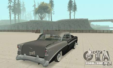 Chevrolet Bel Air 1956 para GTA San Andreas vista superior