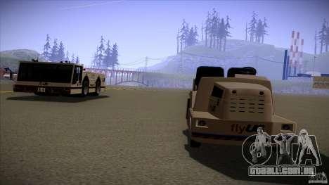 Air Tug from GTA IV para GTA San Andreas traseira esquerda vista