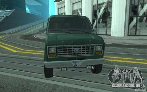 Ford E-150 Short Version v4 para vista lateral GTA San Andreas