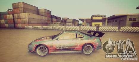 Tokyo Drift map para GTA San Andreas terceira tela