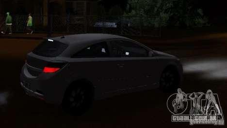 Opel Astra GSI para GTA San Andreas esquerda vista