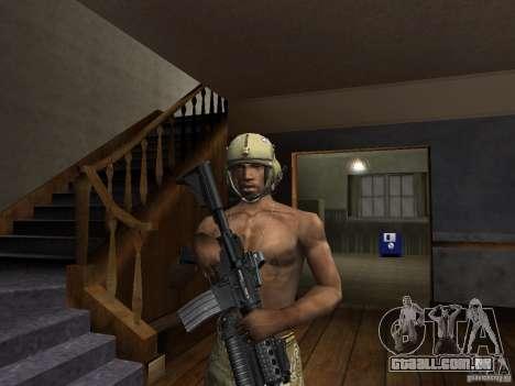 Chapéus de Call of Duty 4: Modern Warfare para GTA San Andreas segunda tela