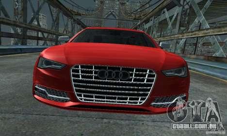 Audi A6 Avant Stanced para GTA San Andreas vista direita