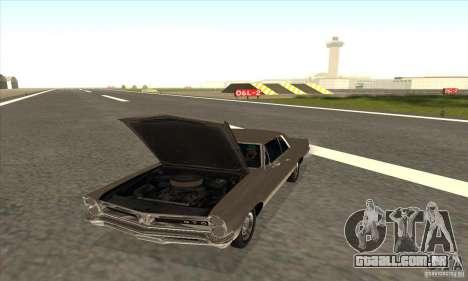 Pontiac GT-100 para GTA San Andreas vista direita