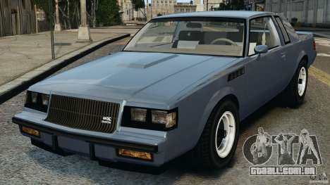 Buick GNX 1987 para GTA 4