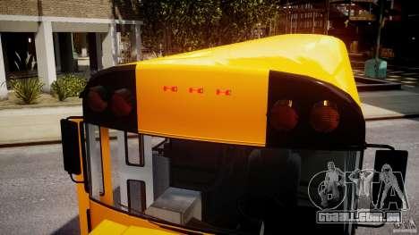 School Bus [Beta] para GTA 4 vista inferior