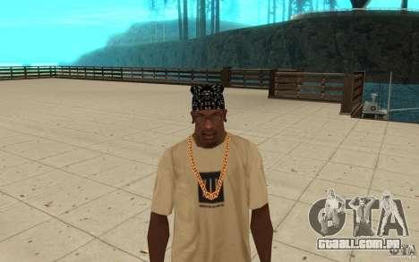 Habilidades de bandana para GTA San Andreas