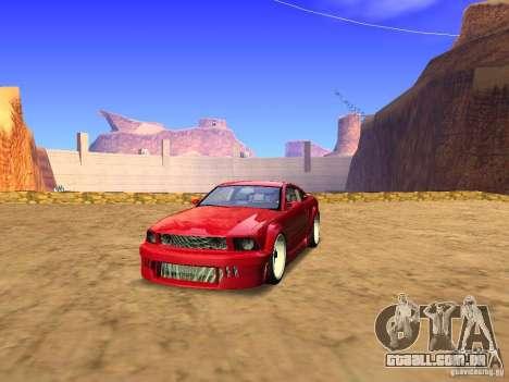 Ford Mustang GT 2005 Tuned para GTA San Andreas