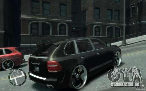 Porsche Cayenne para GTA 4 vista direita