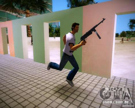 MP-40 para GTA Vice City por diante tela