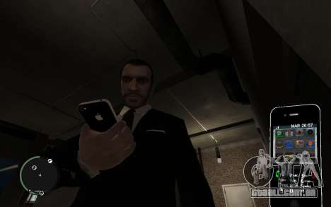 Iphone 4G para GTA 4 segundo screenshot
