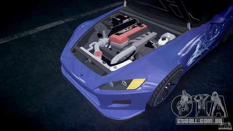 Honda S2000 Tuning 2002 pele calma 2 para GTA 4