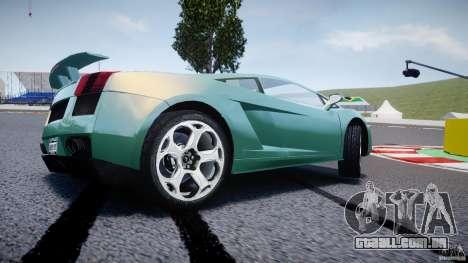 Lamborghini Gallardo para GTA 4 rodas