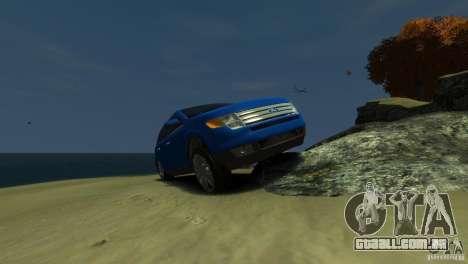 Ford Edge 2007 para GTA 4 vista interior