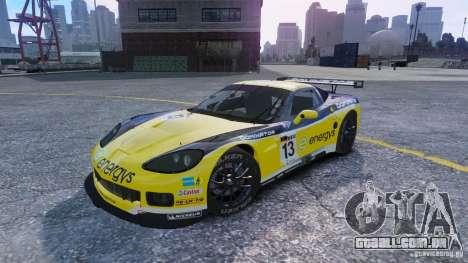 Chevrolet Corvette C6R GT1 para GTA 4