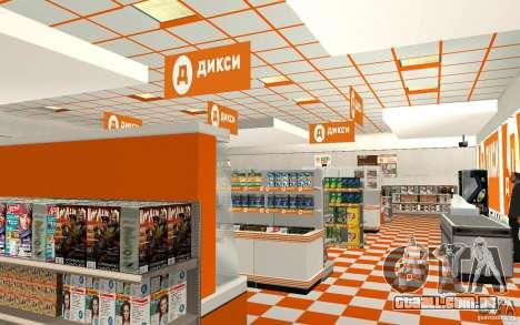 Nova loja Dixie para GTA San Andreas segunda tela