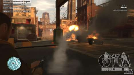 First Person Shooter Mod para GTA 4 terceira tela
