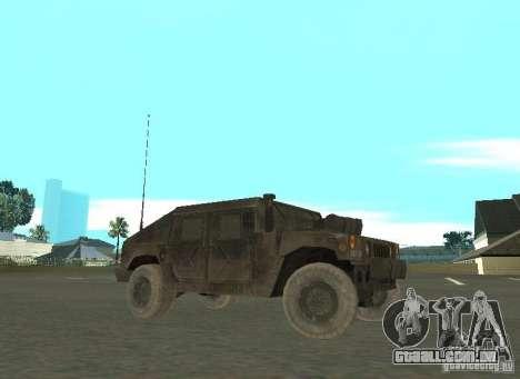 Hummer Cav 033 para GTA San Andreas esquerda vista