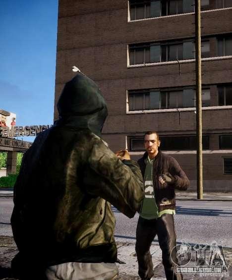 Bad Niko para GTA 4 sexto tela