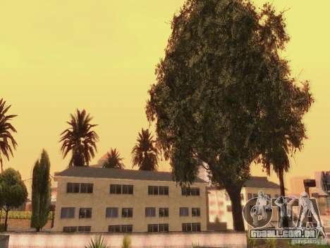 New trees HD para GTA San Andreas sexta tela