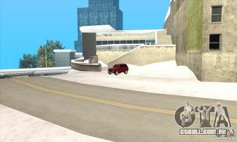 Voos em Liberty City para GTA San Andreas por diante tela