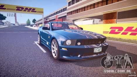 Saleen S281 Extreme - v1.1 para GTA 4 vista interior