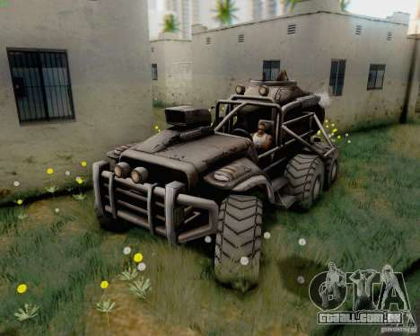 Cheta pata do Borderlands para GTA San Andreas