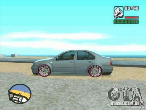 VW Bora Tuned para GTA San Andreas vista traseira