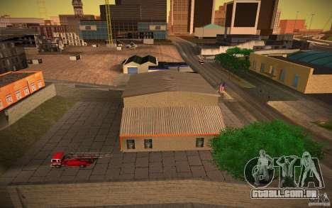 Departamento de fogo HD para GTA San Andreas terceira tela